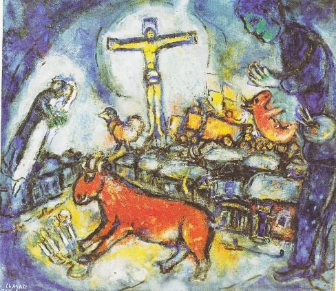 Lezing over werk van Marc Chagall – CPS Chagall Witte Kruisiging